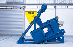 Concrete block production - concrete mixer S 350/500 | Masa